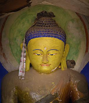Vairocana Buddha Mati Si Temple Zhangye Gansu China by Adam Rainoff