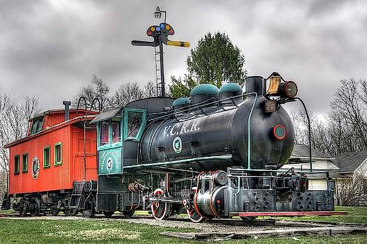 Valley City Depot - HDR by Jeff Burcher