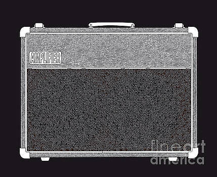 Valve Amplifier Outline Drawing by Bigalbaloo Stock