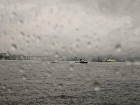 Vancouver behind the rain veil by Jordan Barnes