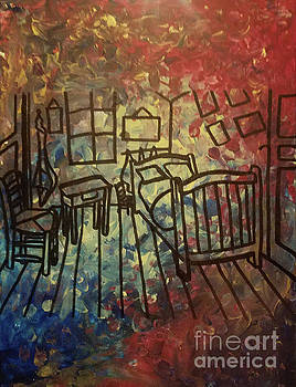vanGogh The Bedroom by Amy Lee Coy