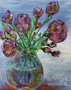 Vase of Wildflowers  by Ariana Dagan