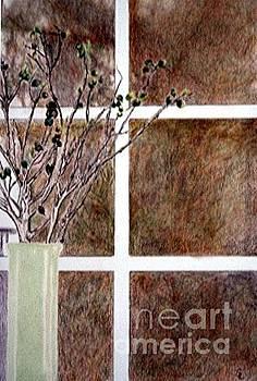 Vase with Window by Glenda Zuckerman