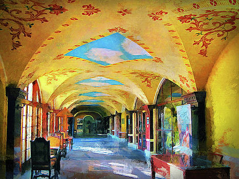 Vaulted Passageway by Cedric Hampton