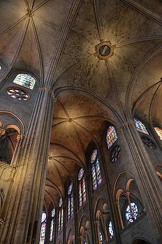 RicardMN Photography - Vaults of Notre Dame de Paris before the fire of 2019