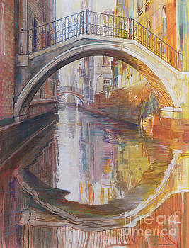 Venetian Bridge by Deb Hoeffner