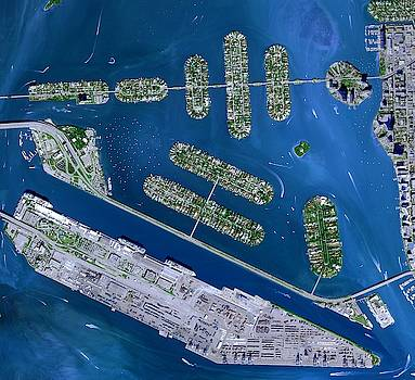 Venetian Islands in Florida by Planet Impression