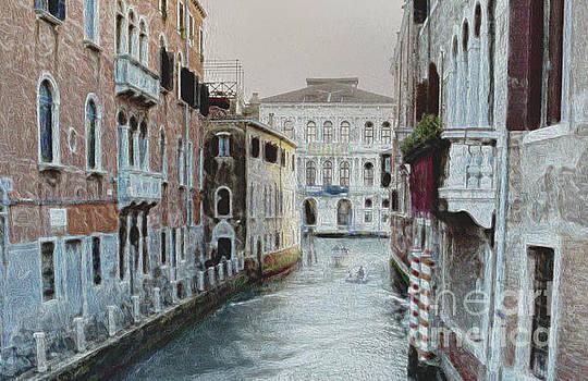 Venetian Small Canal # 2 by Lutz Roland Lehn