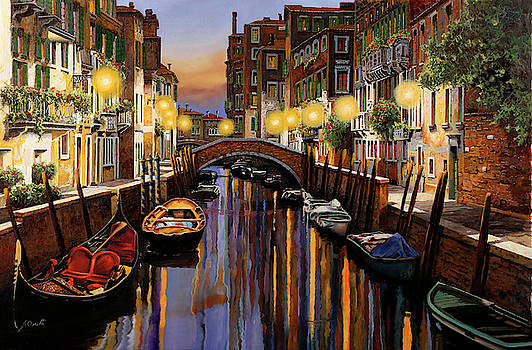 Venice at Dusk by Guido Borelli