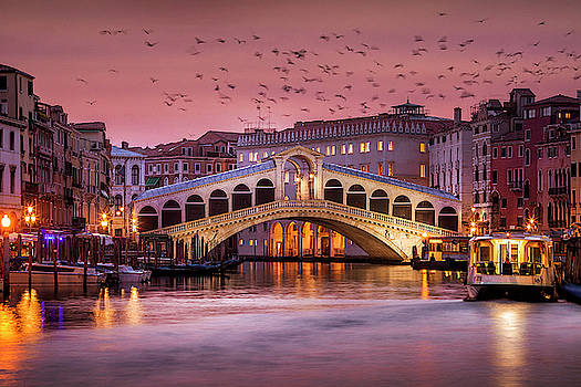 Venice before Dawn by Andrew Soundarajan