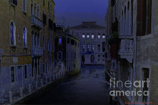 Venice By Night by Lutz Roland Lehn