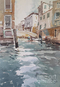 Venice Canal 2018 by Tony Belobrajdic