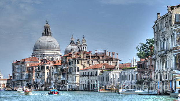 Venice Church by Yury Bashkin