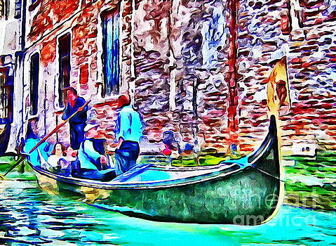 Venice color by Yury Bashkin