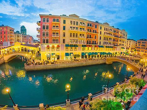Venice Doha panorama by Benny Marty