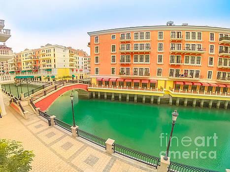 Venice Doha Qatar by Benny Marty