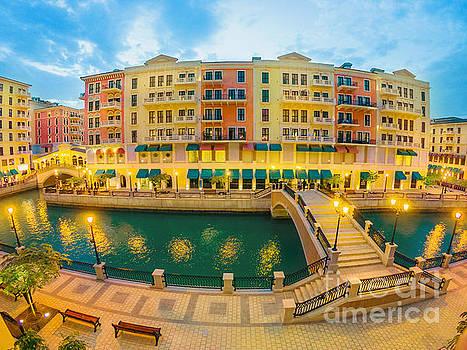 Venice Doha two bridge by Benny Marty