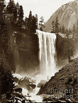 California Views Archives Mr Pat Hathaway Archives - Vernal Fall, Vosemite Valley 1912