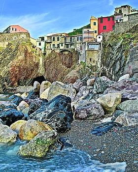 Frozen in Time Fine Art Photography - Vernazza from the Side