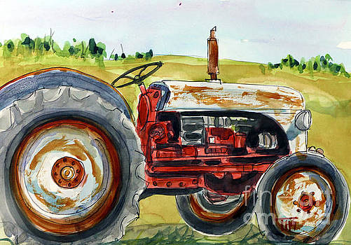 Very UhFORDable Tractor by Tim Ross