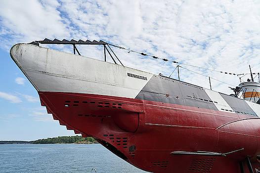 Vesikko submarine by Jouko Lehto