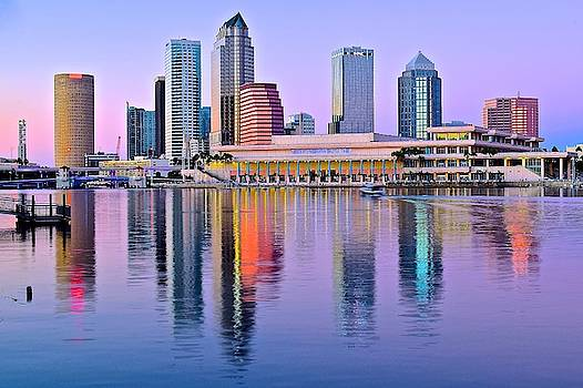 Frozen in Time Fine Art Photography - Vibrant Colors in Tampa Harbor