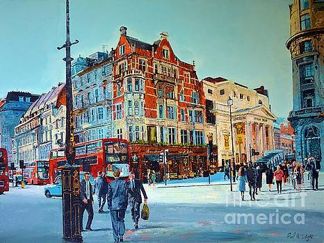 Vibrant West End The Strand by Paul McIntyre
