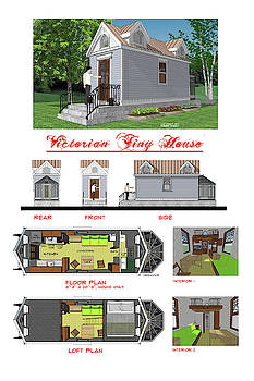 Victorian Tiny House by Robert Bissett