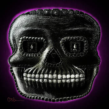 Watchman, Sugarskull of Passing Time by Miko Zen