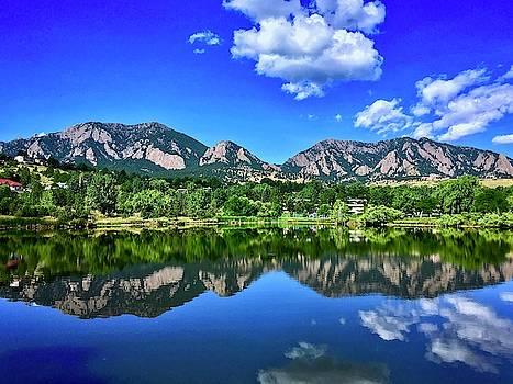 Viele Lake by Dan Miller