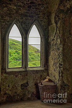 Patricia Hofmeester - View from a medieval castle in Wales