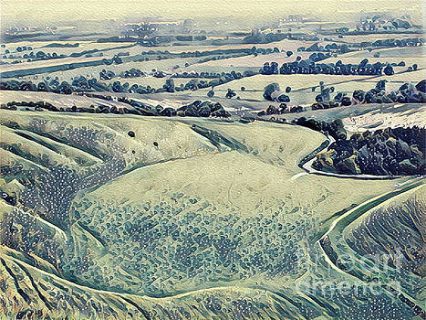 View from an Escarpment by John Edwards