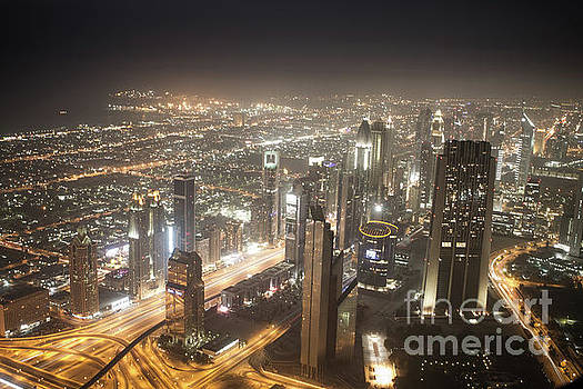 View from Burj Khalifa by Habashy Photography