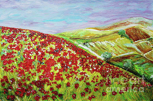 View From Poppies Hill by Jasna Dragun