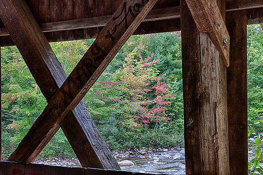 View from the Albany Covered Bridge by Jeff Folger