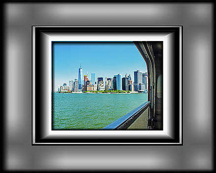 View from the Ferry by Richard Risely