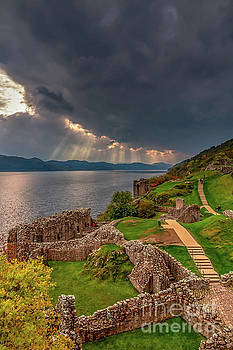 View From Urquhart Castle by Elizabeth Dow
