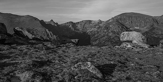 View From Ute In Black And White by Michael Putthoff