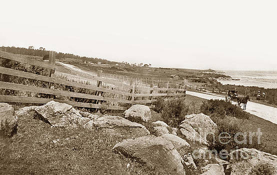 California Views Archives Mr Pat Hathaway Archives - View looking North along the Pacific Grove waterfront to Lovers