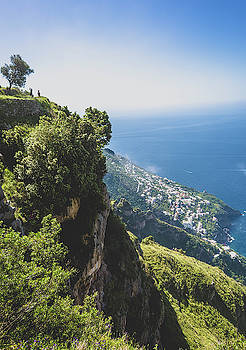 View of Amalfi Italy from Path of the Gods by Nathan Bush