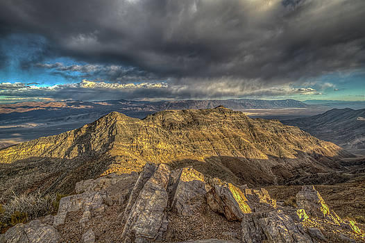 View of Death Valley from Aguerreberry Point by Constance Puttkemery