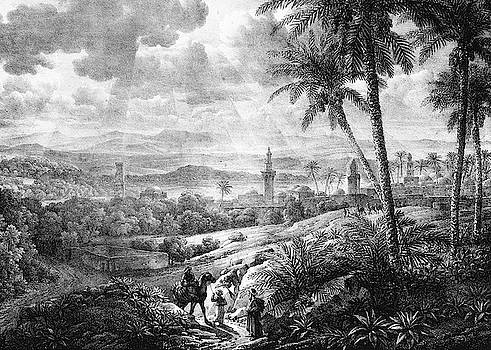 View of Ramala 1819 by Munir Alawi