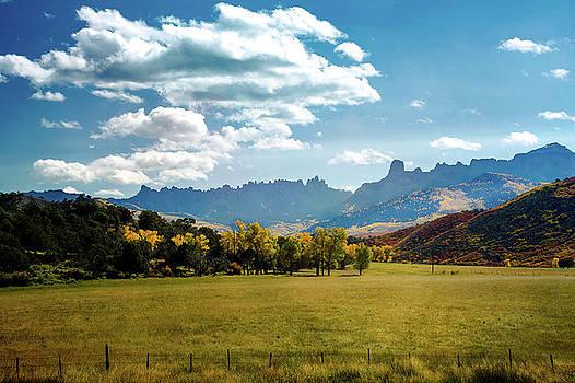 View Of Turret Ridge by John Bartelt