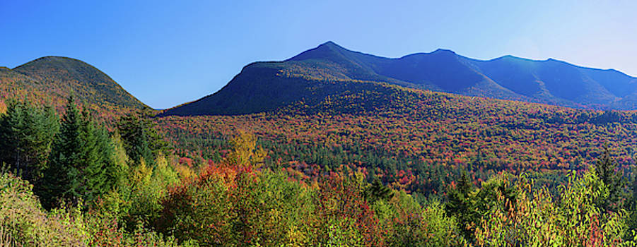 Cliff Wassmann - View of White Mountains from Kancamagus Highway