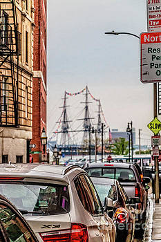 View to Old Ironsides by Elizabeth Dow