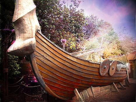 Viking Ship by Yvonne Sewell