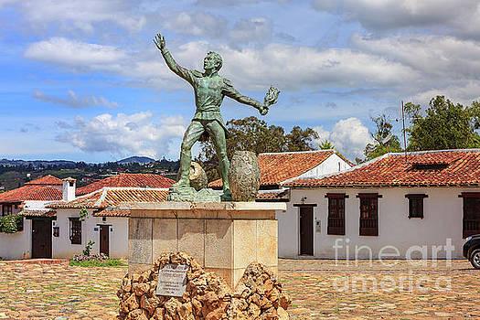 Villa de Leyva, Colombia - Plaza Ricaurte in the Historic 16th Century Town by Devasahayam Chandra Dhas