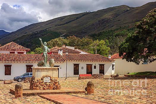 Villa de Leyva, Colombia - The Plaza Ricaurte in the Historic 16th Century Town by Devasahayam Chandra Dhas