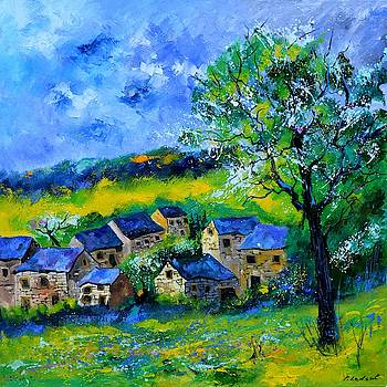 Village in spring by Pol Ledent