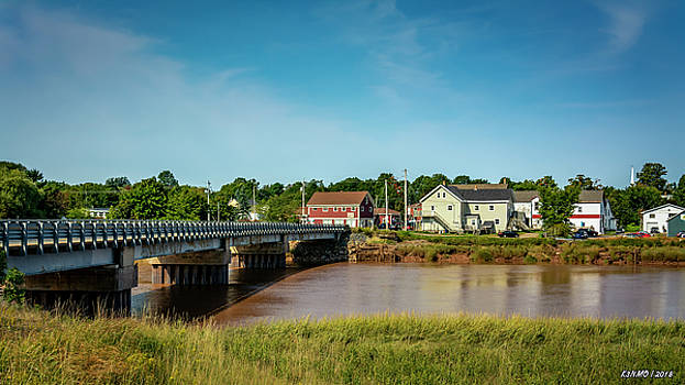 Village of Port Williams by Ken Morris